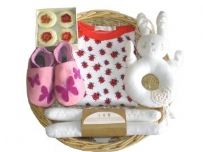 Little Bo Peep Girl Baby Gift Basket Best Seller